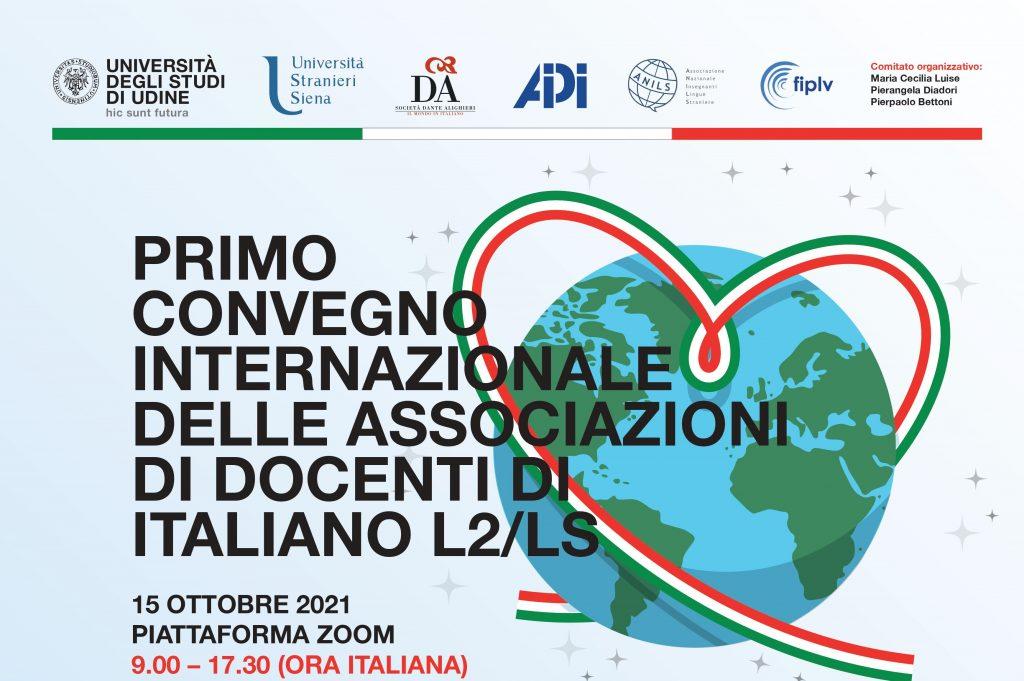 """L'ANECLEA participe au """"Primo Convegno Internazionale delle Associazioni di Docenti di Italiano L2/LS"""" http://www.anils.it/wp/assit2021"""